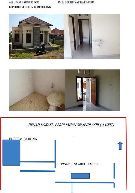 Rumah dijual di Denpasar Bali R1132